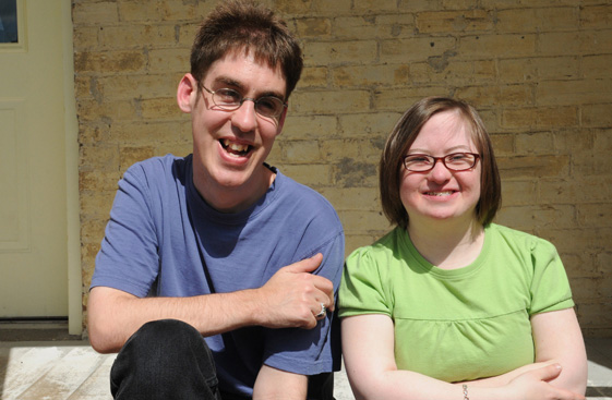 Andrew and Gemma at The ABLE Network